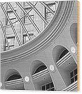 Tower City Rotunda Wood Print