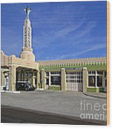 Tower Conoco Wood Print