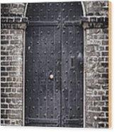 Tower Door Wood Print