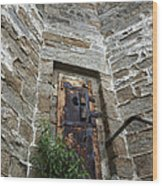 Tower Door Wood Print