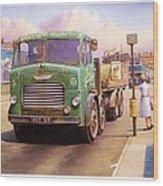 Tower Hill Transport. Wood Print