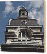 Tower In Lyon Wood Print