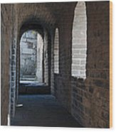 Tower In The Great Wall 695 Wood Print