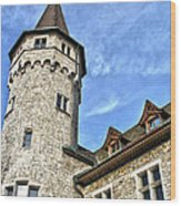 Tower Of History Wood Print