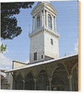 Tower Of Justice - Topkapi Palace - Istanbul Wood Print