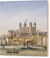 Tower Of London, 1862 Wood Print
