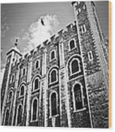 Tower Of London Wood Print by Elena Elisseeva