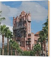 Tower Of Terror  Wood Print