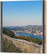 Tower Over The City Triptych Wood Print