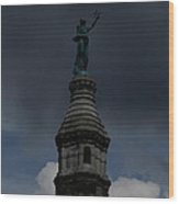 Tower Top Wood Print by Stephen Melcher
