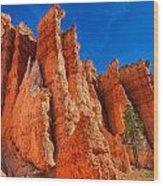 Towering Pinnacles Wood Print