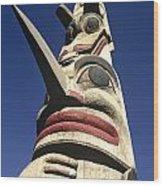 Towering Totem Wood Print