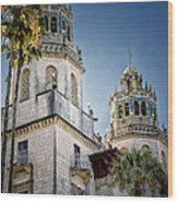 Towers At Hearst Castle - California Wood Print