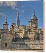 Towers Of London Wood Print
