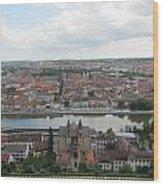 Town Of Wurzburg Wood Print
