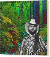Toy Caldwell In The Woods Wood Print