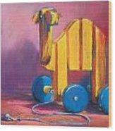 Toy Camel Wood Print
