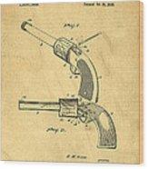 Toy Pistol Circa 1920s Wood Print