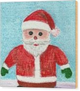 Toy Santa Wood Print