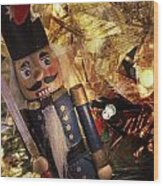 Toy Soldier Wood Print
