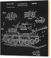Toy Tank Wood Print