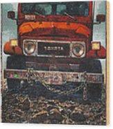 Toyota Wood Print
