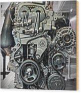 Toyota Engine Wood Print