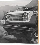 Toyota Fj55 Land Cruiser Wood Print