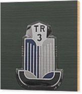 Tr3 Hood Ornament 2 Wood Print