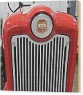 Ford Tractor Grill Wood Print
