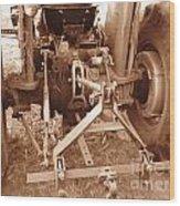 Tractor Series 002 Wood Print