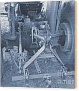 Tractor Series 003 Wood Print
