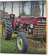 Tractor - The Farmers Car Wood Print