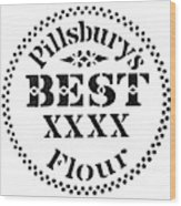 Trademark Pillsbury Wood Print