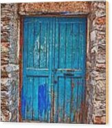 Traditional Door 2 Wood Print