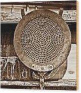 Traditional Light Wood Print