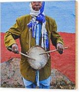 Traditional Musician I Wood Print