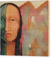 Trail Of Tears Wood Print by Johanna Elik
