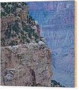 Trail On The Edge Wood Print