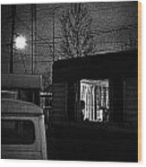 Trailer Home Wood Print