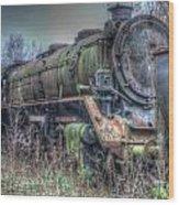 Train 12 Wood Print