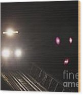 Train 3527 Wood Print