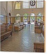 Train Depot San Diego Wood Print