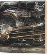 Train - Engine - 1218 - Nw Type-a 1218 Steam 2-6-6-4 Wood Print