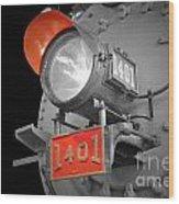 Train Light 1401 Wood Print
