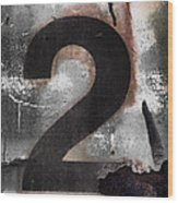 Train Number 2 Wood Print by Carol Leigh