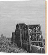 Train Trestle 1 Wood Print