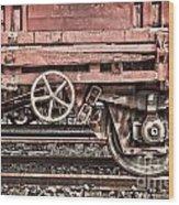Train Wagon Wood Print