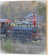 Trains Planes And Automobiles Wood Print