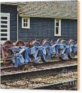 Trains Tr3634-13 Wood Print